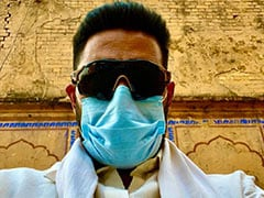"""Be Like Abhishek Bachchan And """"Keep Your Mask On."""" See What He Posted"""