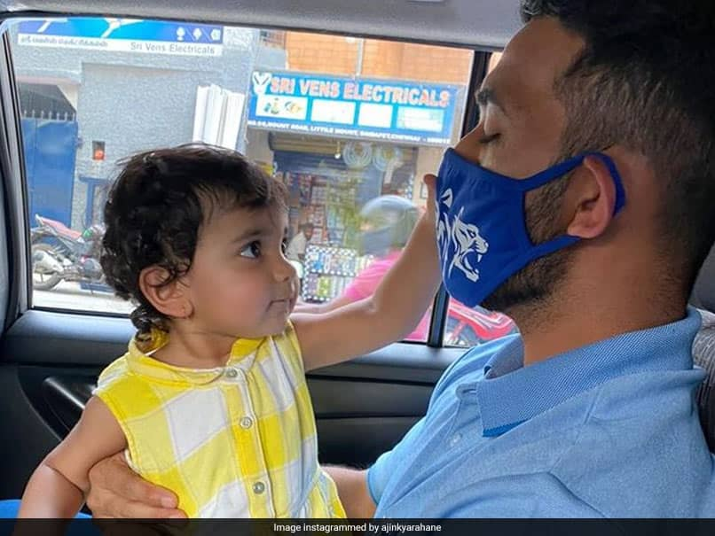 IPL 2021: Delhi Capitals Ajinkya Rahane Urges Fans To Wear Mask With A Sweet Picture Of His Daughter