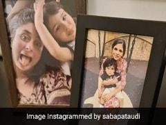 सबा पटौदी ने तैमूर अली खान की फोटो की शेयर, बोलीं- टिम और बुआ जान...