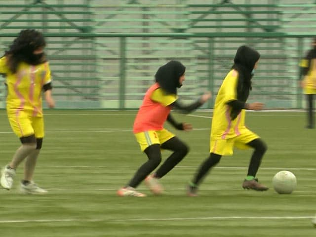 Video : First Female Football Academy Opens In Srinagar