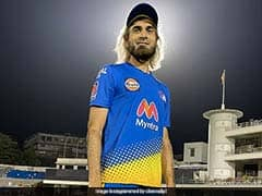 """Watch: CSK Fans Are Loving Imran Tahirs """"Lion"""" Hairdo. What About You?"""