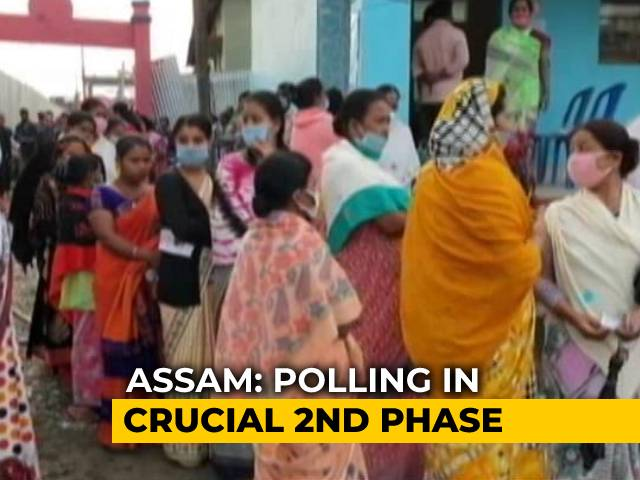 Video : Assam: Polling In 39 Constituencies In Second Phase