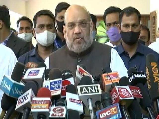 "Video : ""We'll Take Fight Against Naxals To Logical Conclusion"": Amit Shah"