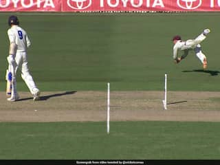 "Watch: Marnus Labuschagne Takes ""Unbelievable"" Catch In Sheffield Shield Final"