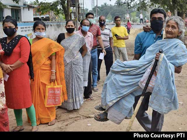 Video : Final Phase Of Bengal Polls Today As Covid Cases Hit Record High