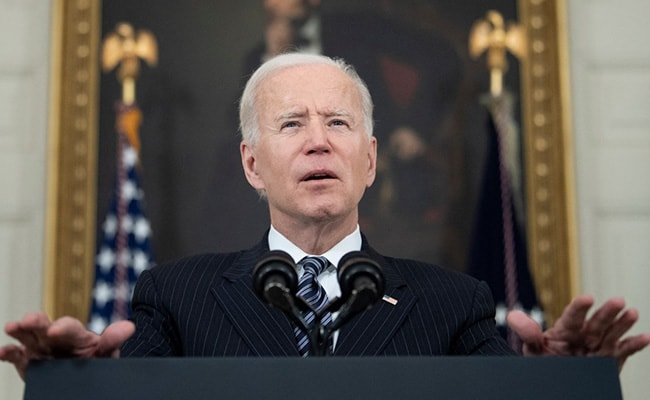U.S. President Biden expresses optimism in COVID-19 battle