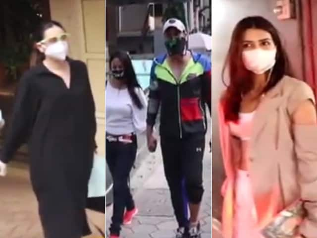 Video : Inside Karisma Kapoor And Kriti Sanon's Busy Tuesday