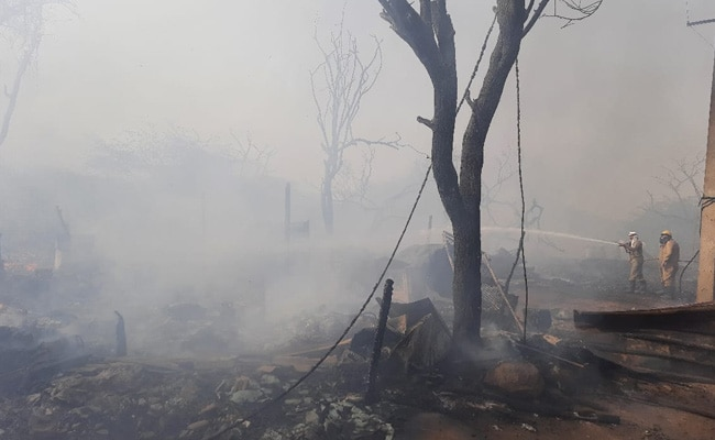 50 Shanties Destroyed In Fire In Delhi, No Injuries
