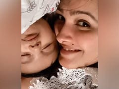 How Cute Is This Video Of Anita Hassanandani With Her Cupcake Aaravv?