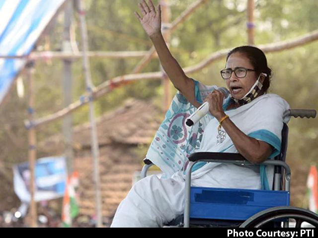 Amit Shah Responsible, Says Mamata Banerjee On Bengal Poll Violence