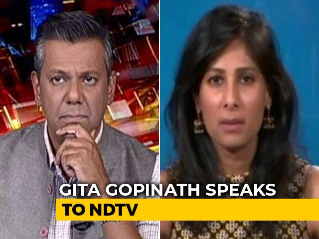 Video : India Should Focus On Getting Widespread Vaccinations Done: Gita Gopinath
