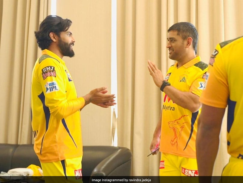 """IPL 2021: Ravindra Jadeja Reunites With MS Dhoni, Says """"Feels Like Meeting Him For The First Time"""". See Pics"""