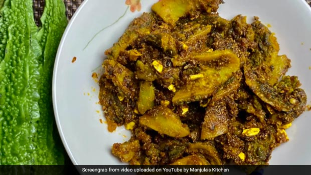 Khatta Meetha Karela Recipe: Healthy Tasty Khatta Meetha Karela Recipe You Can Make Easy At Home