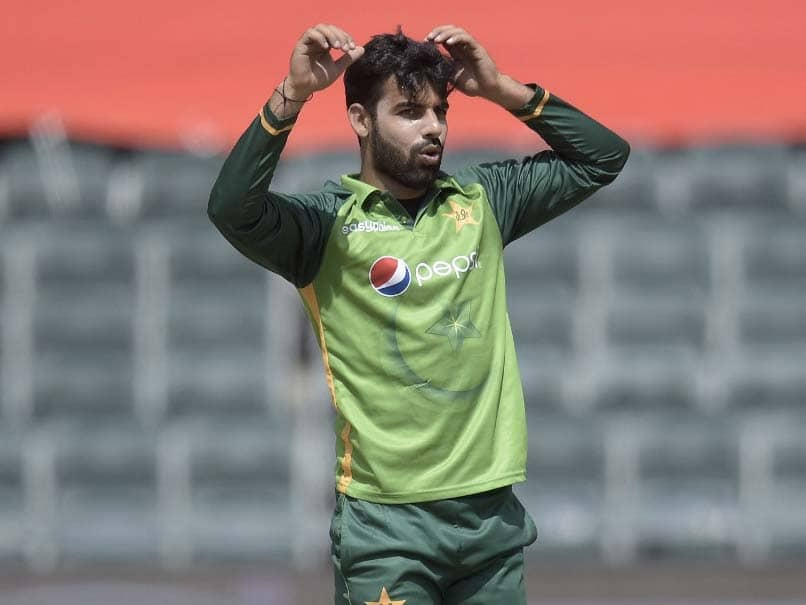 Shadab Khan Ruled Out Of South Africa, Zimbabwe Tours With Toe Injury