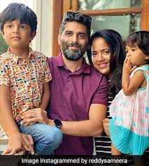 Sameera Reddy Tests Positive After Her Kids Contracted COVID-19