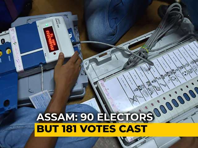 Video : 90 Voters, 181 Votes In Assam Polling Booth. 6 Officials Suspended