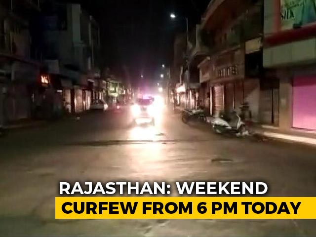 Video : Weekend Curfew In Rajasthan From 6 pm Today To 5 am Monday
