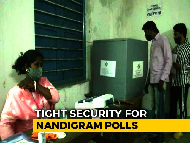 Video : EVM Complaints In Nandigram As Bengal Votes; Polling In 39 Seats Of Assam