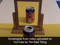 Mind Blowing! This Optical Illusion Involving Coca Cola Can Will Leave You Puzzled - Watch Video