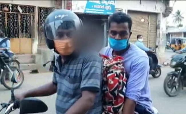 Refused Ambulance, Son And Son-In-Law Carry Andhra Tribal Woman's Body On Bike