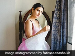 Fatima Sana Shaikh Makes Us Ditch Our Summer Dresses For A Classic Organza <i>Saree</i>
