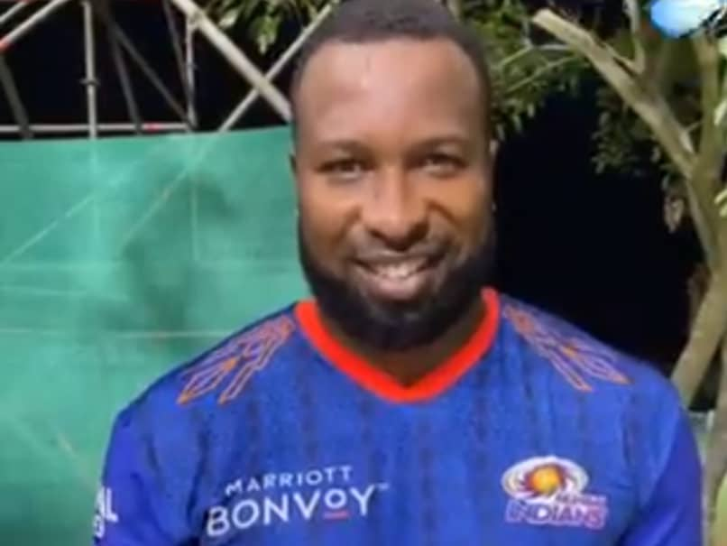 IPL 2021: Kieron Pollard Begins Training With Mumbai Indians After Completing Quarantine