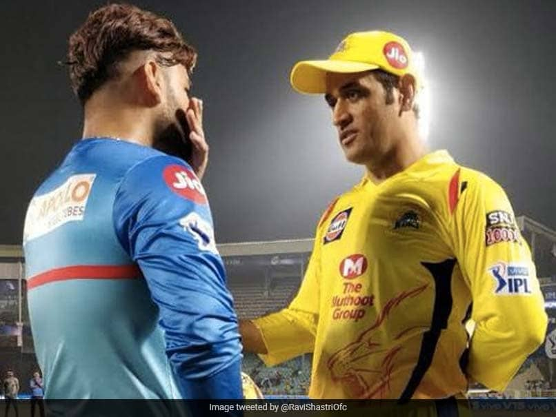 IPL 2021: Ravi Shastri Excited For MS Dhoni-Rishabh Pant Face-Off, Makes Special Request