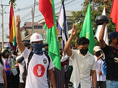 Myanmar Security Forces Open Fire On Protesting Medical Workers: Report