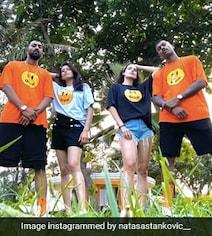 Watch: Hardik, Natasa Show 'The Pandya's Swag' With Krunal, Pankhuri