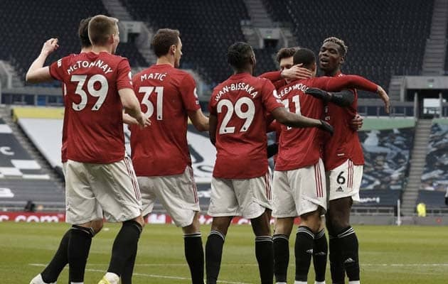 Manchester United Battle Back To Gain Revenge On Tottenham Hotspur