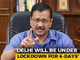 Video : Don't Leave Delhi In Fear Of Lockdown: Arvind Kejriwal To Migrant Workers