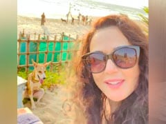 """This Throwback Video Of Preity Zinta Enjoying The Sunset With Her """"New Friend"""" Is All Things Nice"""