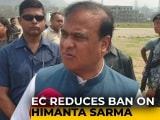 Video : BJP Leader Himanta Biswa Sarma's Campaign Ban Reduced To 24 Hours