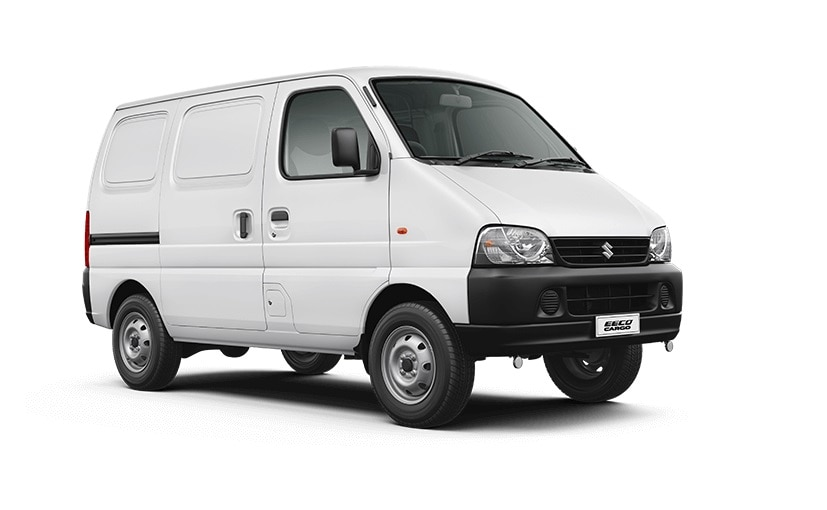 The Maruti Suzuki Eeco cargo comes in both petrol and CNG versions.