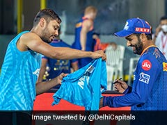 "IPL 2021, DC vs MI: Rohit Sharma Signs ""Fanboy"" Avesh Khan's Jersey After Match. See Pics"