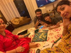"Shilpa Shetty And Her Family Are ""Working Hard"" In Lockdown. Here's How"