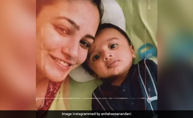 Anita Hassanandani's Adorable Moment With Baby Son Will Melt Your Heart