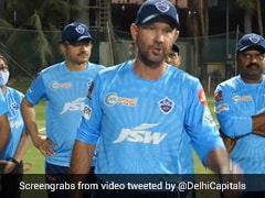 "IPL 2021: Prithvi Shaw Welcomes ""Boss"" Ricky Ponting To Delhi Capitals With ""Chak De"" Cry. Watch"