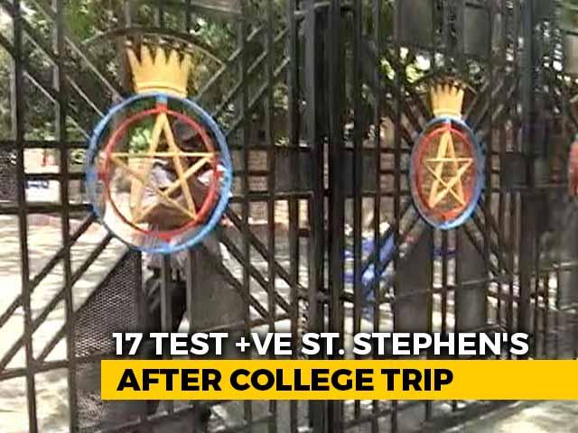 Video : 17 Test Covid Positive At Delhi's St Stephen's, College Trip Under Lens