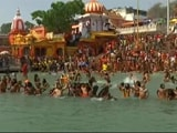 Video : 30 Sadhus At Kumbh Mela In Haridwar Test Postive For Covid