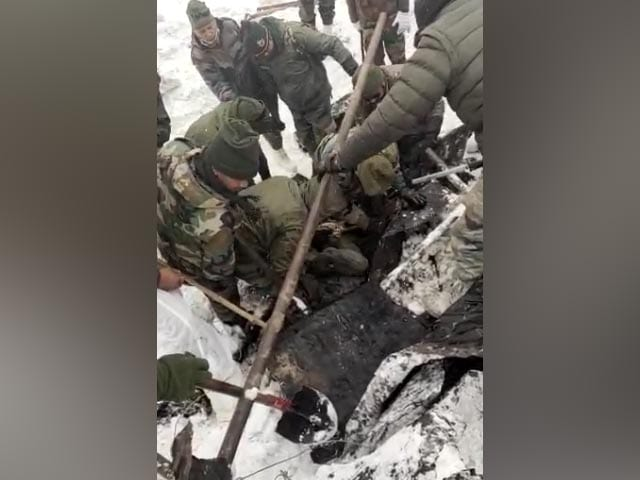 Video : First Visuals Of Army Rescue Op After Glacier Disaster In Uttarakhand