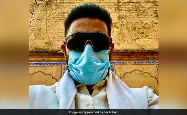 Be Like Abhishek Bachchan And 'Keep Your Mask On.' See What He Posted