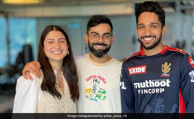 Trending: Anushka Sharma And Virat Kohli In RCB Player Mohammed Azharuddeen's Fanboy Pic