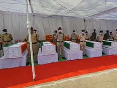 Funeral Of CRPF Soldier Killed In Maoist Attack Held In Andhra Pradesh