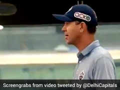 IPL 2021: How Ricky Ponting Motivated Delhi Capitals After Defeat To Rajasthan Royals. Watch
