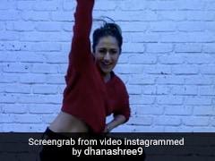 Dhanashree Verma ने 'सौदा खरा खरा' सॉन्ग पर किया जोरदार डांस, वायरल हुआ Video