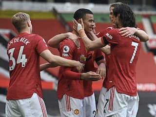 Premier League: Mason Greenwood Double Helps Manchester United Win Against Burnley, Arsenal Survive Fulham