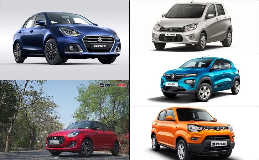 Four Maruti Suzuki cars are amongst the most economical automatic cars in India
