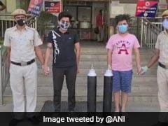 2 Arrested In Delhi For Allegedly Black-Marketing Oxygen Cylinders: Cops