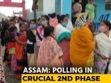 Video: Assam: Polling In 39 Constituencies In Second Phase